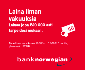 Bank Norwegian Asiakaspalvelu