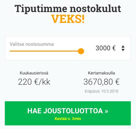 Lainasto.fi lainalaskuri