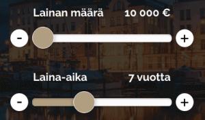 Etua.fi Kattokorko Lainalaskuri