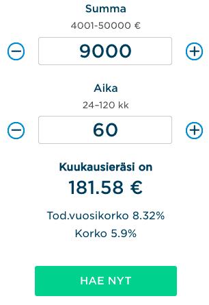 BigBank Lainalaskuri