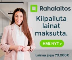 Hae Tingitty Pienikorkoinen Laina Alk. 4.1% Korolla!